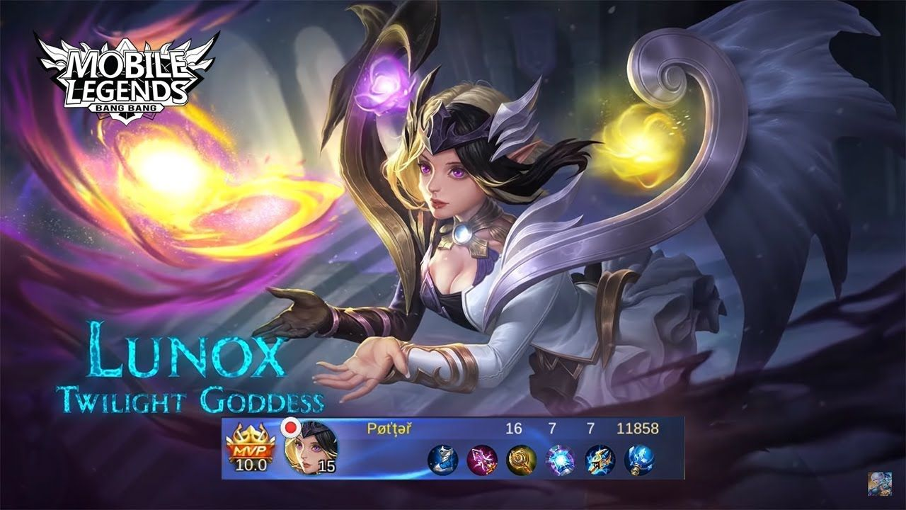 solo rank 16 kills with lunox / mobile legend | mobile