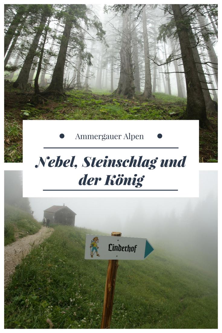 Nebel Uber Linderhof Wolkenwanderung Zur Brunnenkopfhutte Ammergauer Alpen Wanderung Reisen