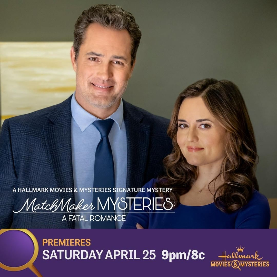 Hallmark Movies Mysteries On Instagram When A Romance Convention Turns Deadly Professional Matchmaker Angie Danicamckellar In 2020 Hallmark Movies Movies Mystery