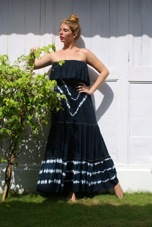Maxi off shoulderbohemian loose fitting dresssummer maxi dress