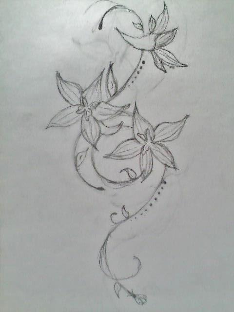 larkspur flower design july birth flower tattoos and piercing rh pinterest com au larkspur tattoo small Larkspur Tattoo Birth Flower