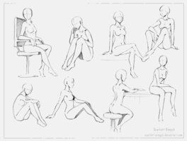 107 - Training - female body 4 by Scarlett-Aimpyh | Anatomy ...