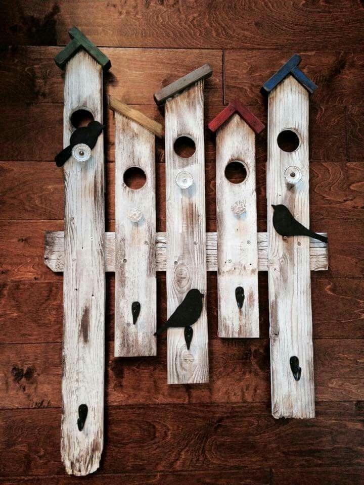 Photo of Para hacer un cerco …. Birdhouses