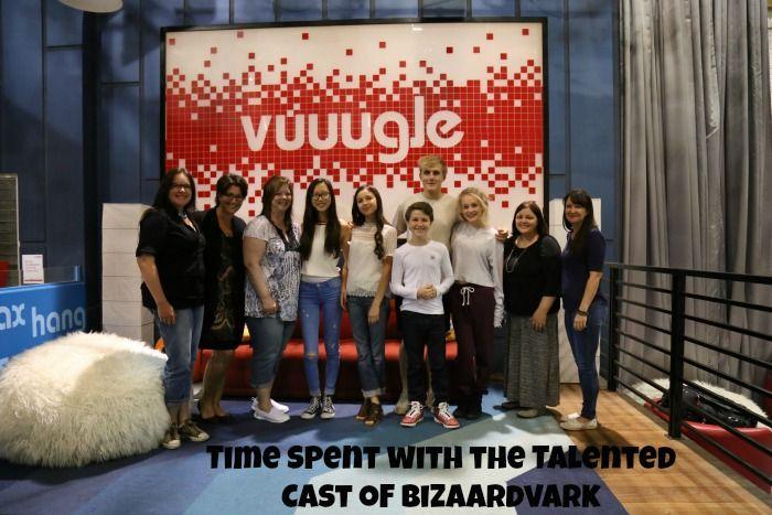 Time Spent With The Talented Cast Of Bizaardvark Bizaardvarkevent It Cast Disney Channel New Shows