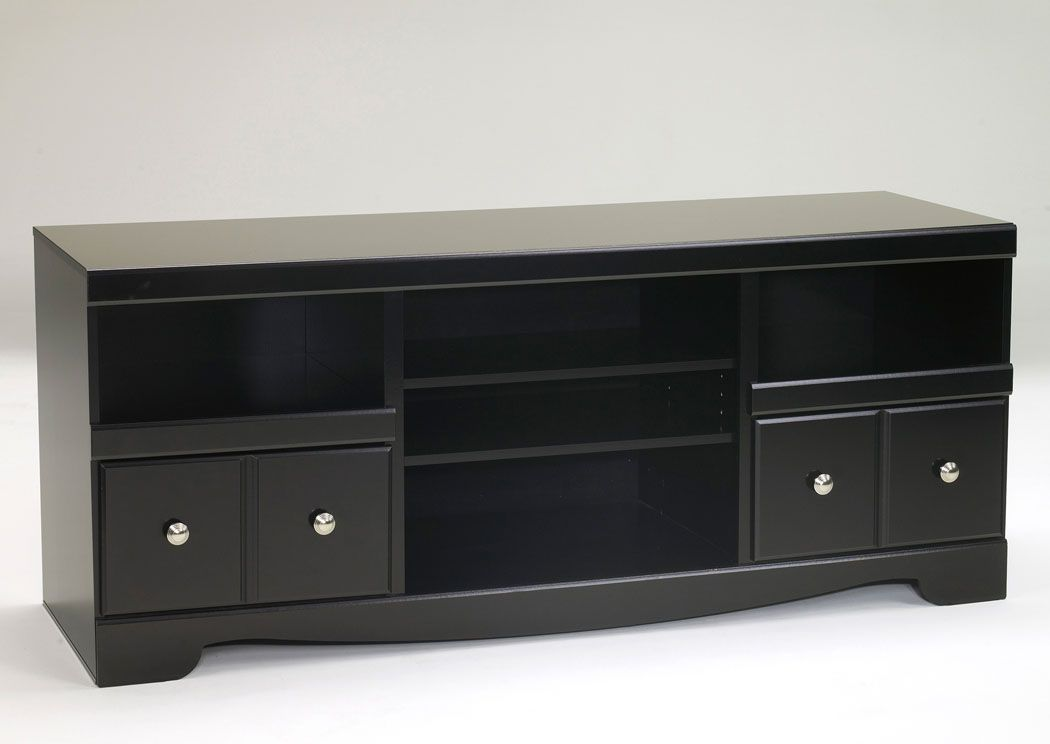 Shay Large TV Stand | Large tv stands, Family room design ...
