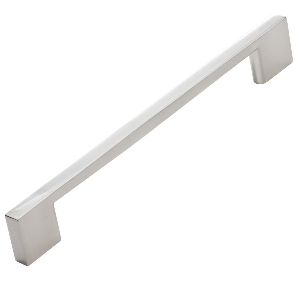 pack of 25 brushed nickel cabinet pulls 765 inches long with screws spaced at