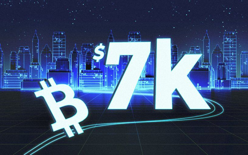Bitcoin price is heading to its next 7000 target when