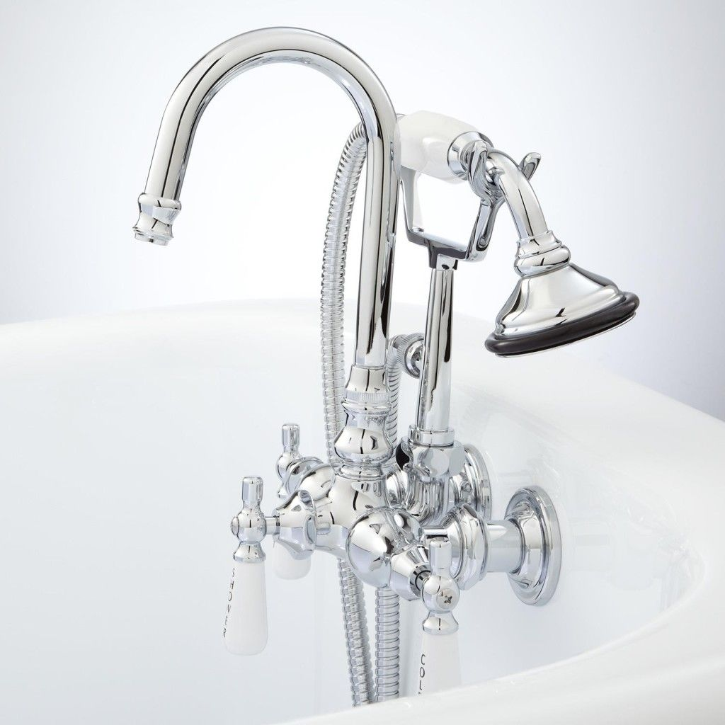 Wall Mount Kitchen Faucet With Side Spray   kitchen cabinets ...