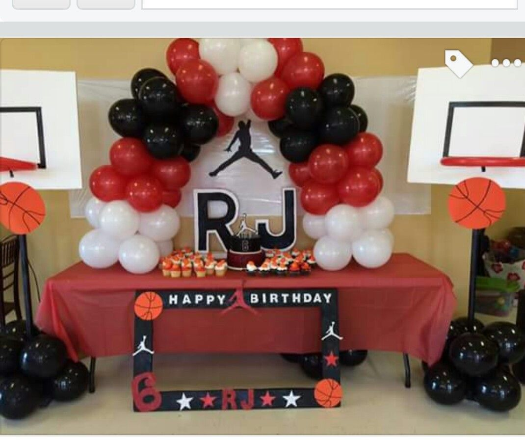 Basketball michael jordan  Basketball birthday parties, Michael