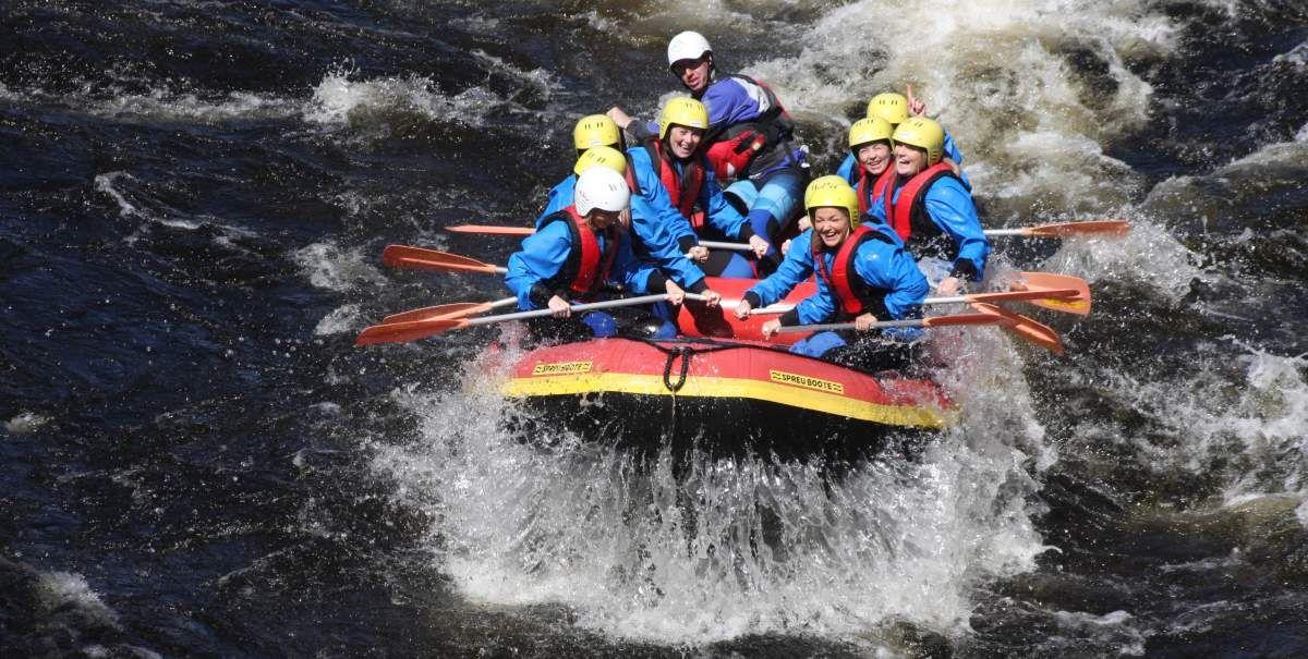 Rafting Hessen