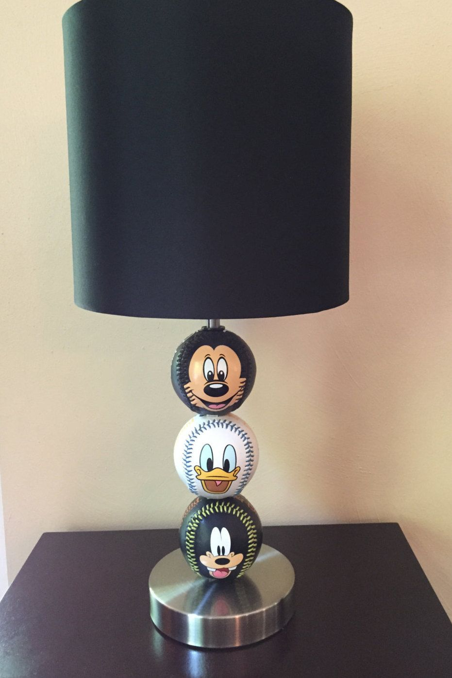 Disney baseball themed table lamp by christyvscreations on etsy disney baseball themed table lamp by christyvscreations on etsy geotapseo Image collections