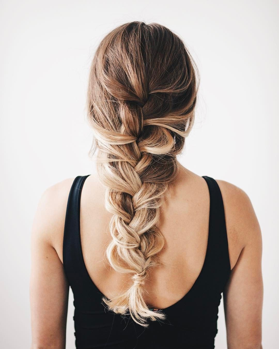 loose braid | Beauty Inspo | Hair, Loose braids, Bad hair day