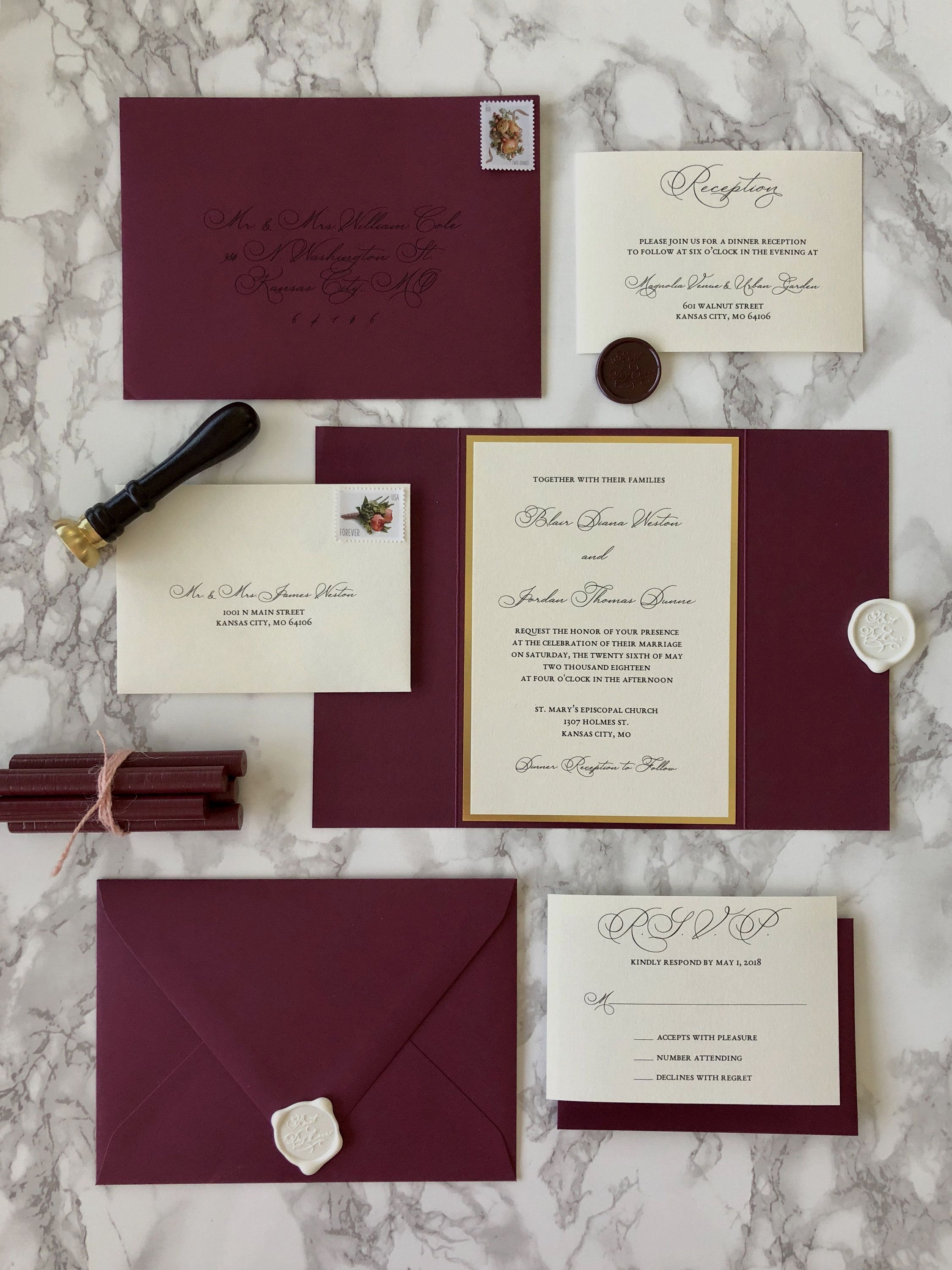 Customizable Wedding Invitations Burgundy Wedding Invitations Fun Wedding Invitations Wedding Invitations Diy