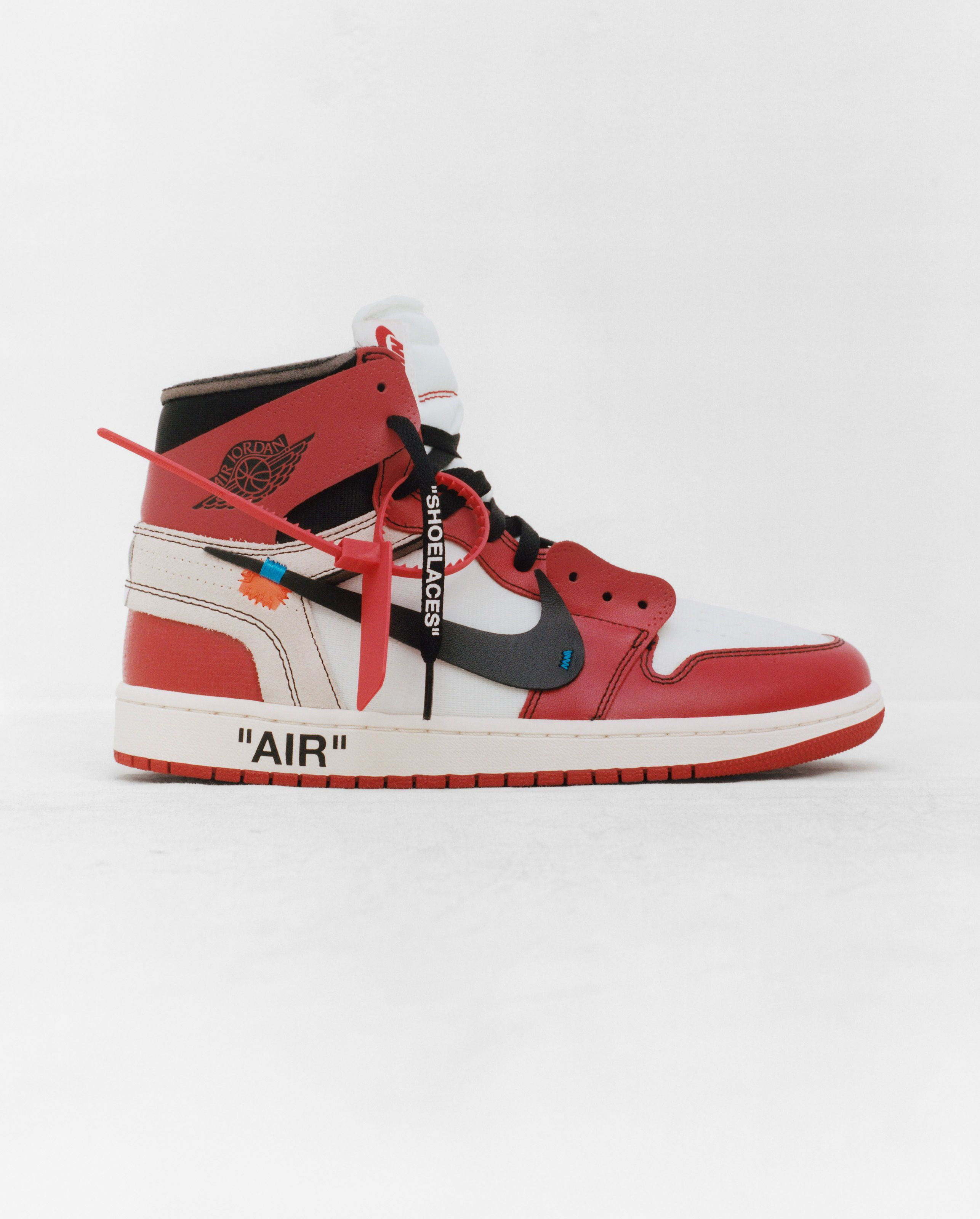 OFF WHITE by Virgil Abloh x Nike The 10: Air Jordan 1