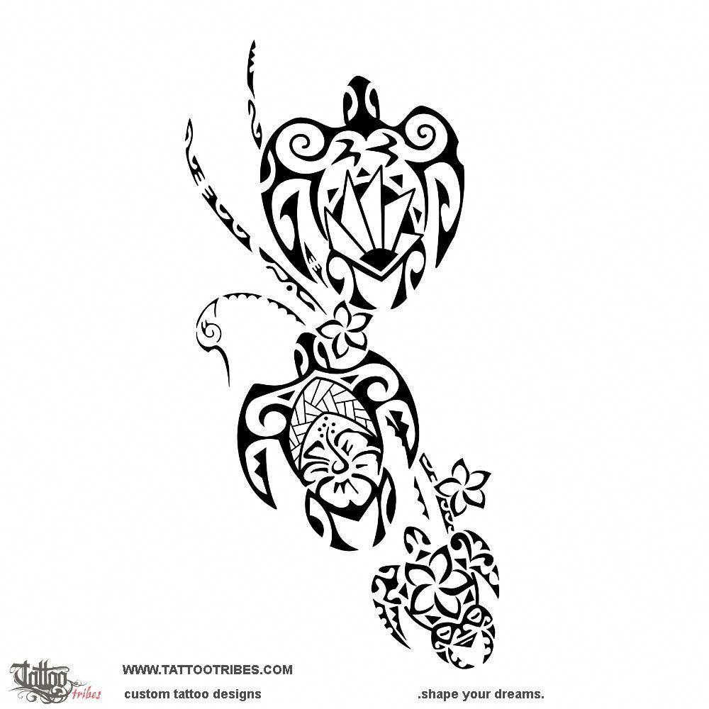 Polynesian Tattoos About Family Polynesiantattoos Unity Tattoo Turtle Tattoo Tribal Turtle Tattoos