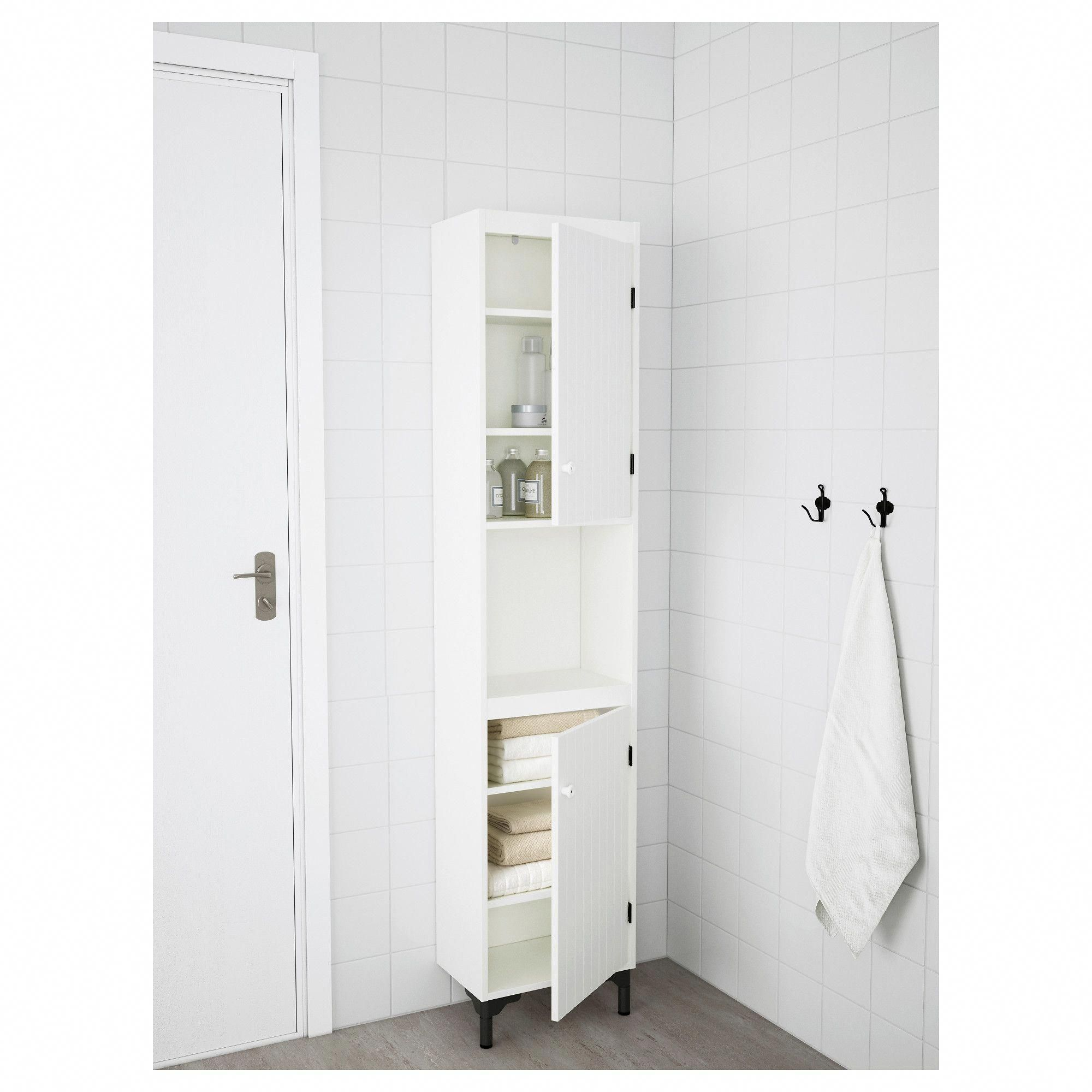 IKEA SILVERAN White High with 2 doors Small