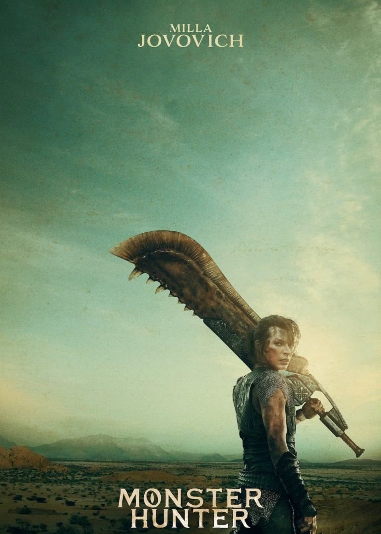 Monster Hunter Movie In 2020 Monster Hunter Movie Monster Hunter Milla Jovovich