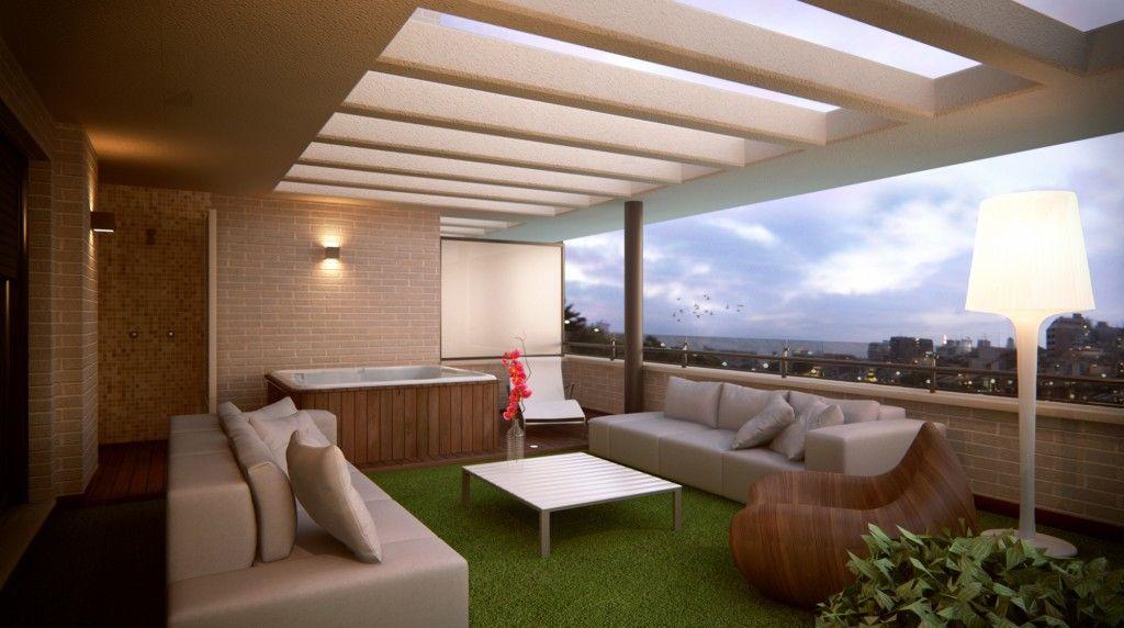 Resultado de imagen de dise o de terrazas aticos ideas - Ideas para aticos ...