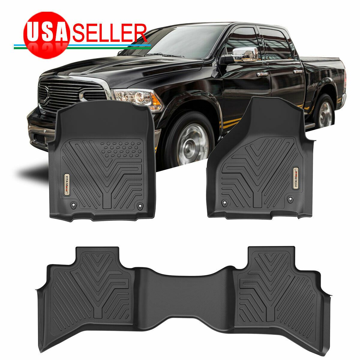 All Weather Floor Mats Floor Liners for 20132018 Dodge