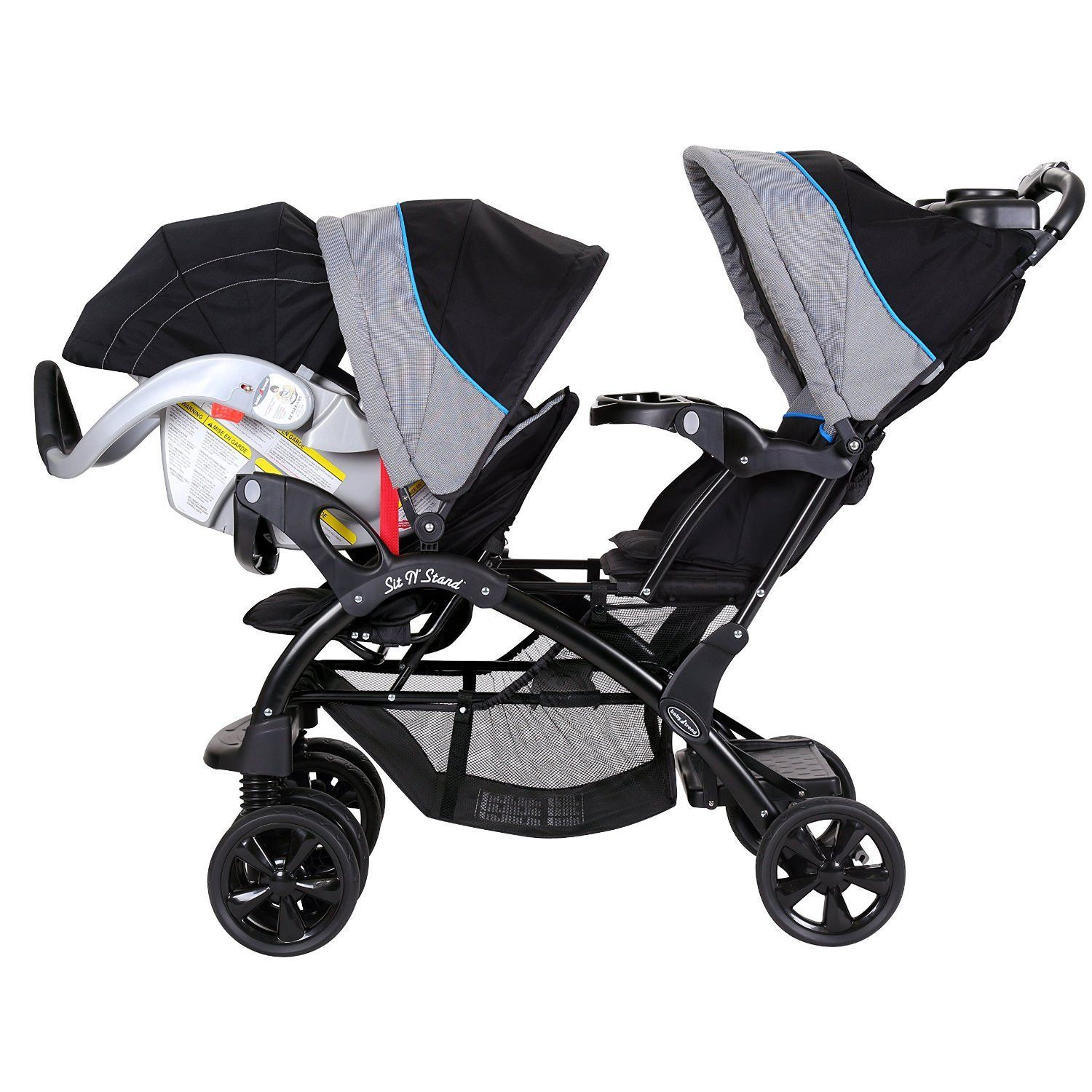 Baby Trend Double Sit N Stand Twin Stroller Travel System