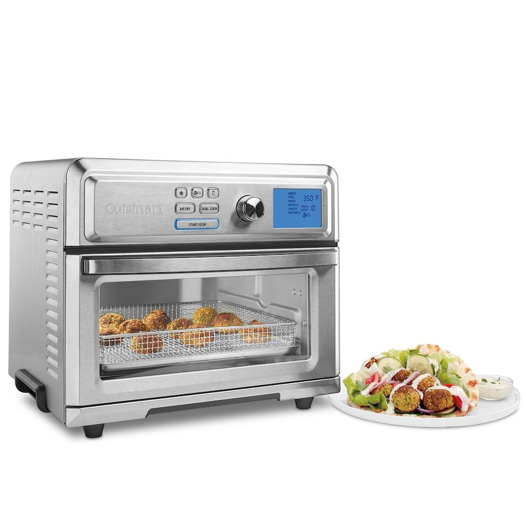 Cuisinart Digital Airfryer Toaster Oven Silver Stainless Steel