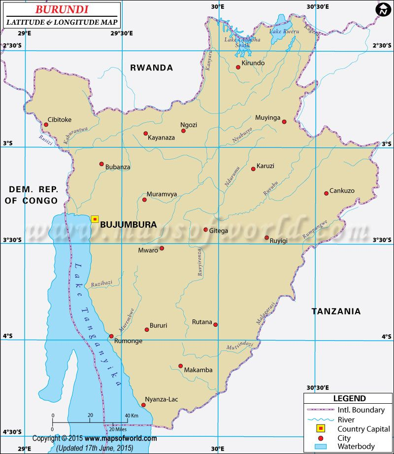 Burundi latitude and longitude map latitude longitude maps pinterest latitude and longitude of burundi is 3 degrees s and 30 degrees e find burundi latitude and longitude map showing comprehensive details including cities gumiabroncs Image collections