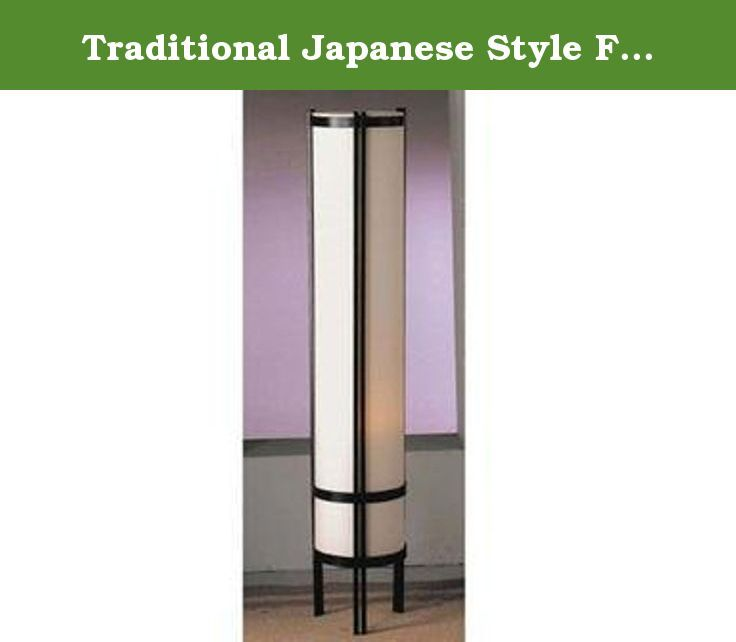 Traditional Japanese Style Floor Lamp By Acme Furniture This Contemporary Japanese Style Floor Lamp 48 H Will Surel Lighting Ceiling Fans Floor Lamp Lamp