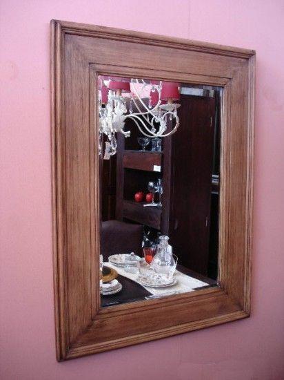 modelos de marcos para cuadros de espejos en madera