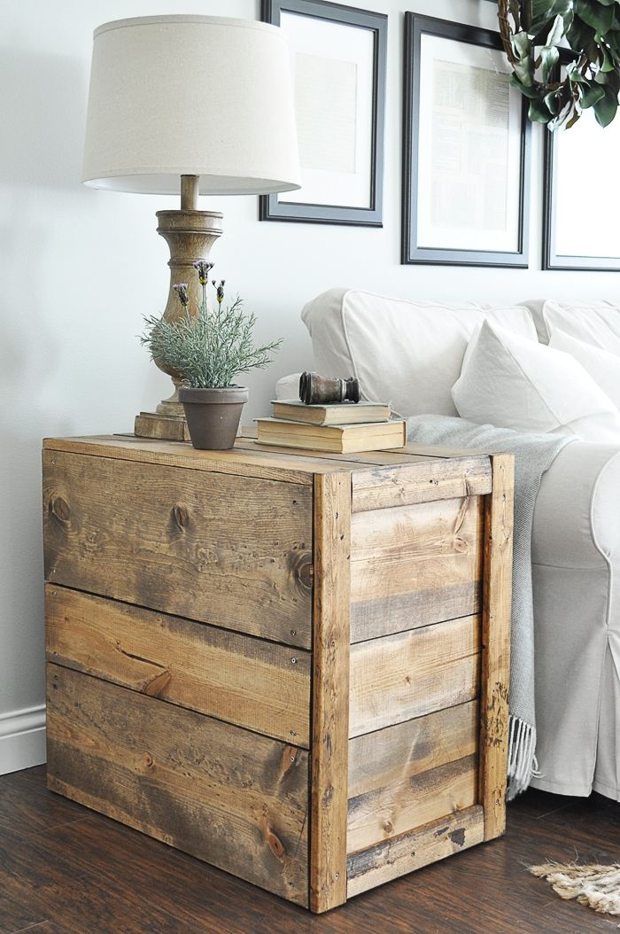 Crate Side Tables Crate Side Table Living Room