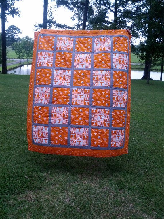 University of Tennessee Go Vols Quilts by NeNesQuilts on Etsy ... : quilting university - Adamdwight.com