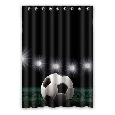 Fussball Deko Kinderzimmer : kinderzimmer vorhang mit fu ball motiv ein tolles deko ~ Watch28wear.com Haus und Dekorationen