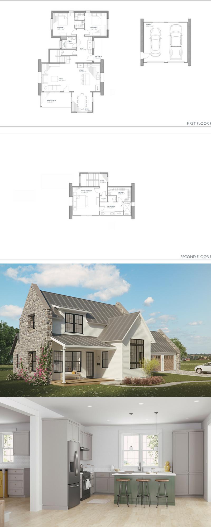 40+ Scandinavian farmhouse plans model