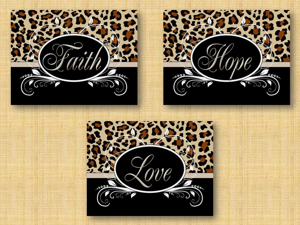 Generous Leopard Print Wall Decor Gallery - Wall Art Design ...