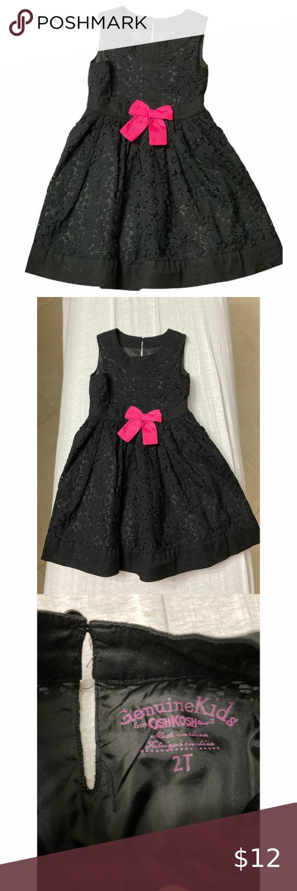 Oshkosh Girls 2t Black Special Occasion Dress Special Occasion Dresses Occasion Dresses Kids Dresses [ 1740 x 580 Pixel ]