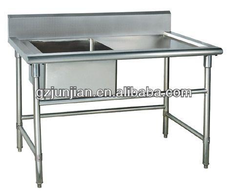 freistehende küchenausstattung edelstahlspüle-Bild-Küchenspüle ...