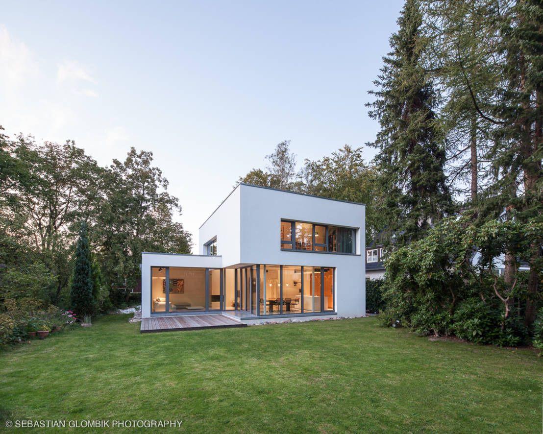Bauhaus bei blankenese moderne garagen schuppen von hgk hamburger grundstückskontor