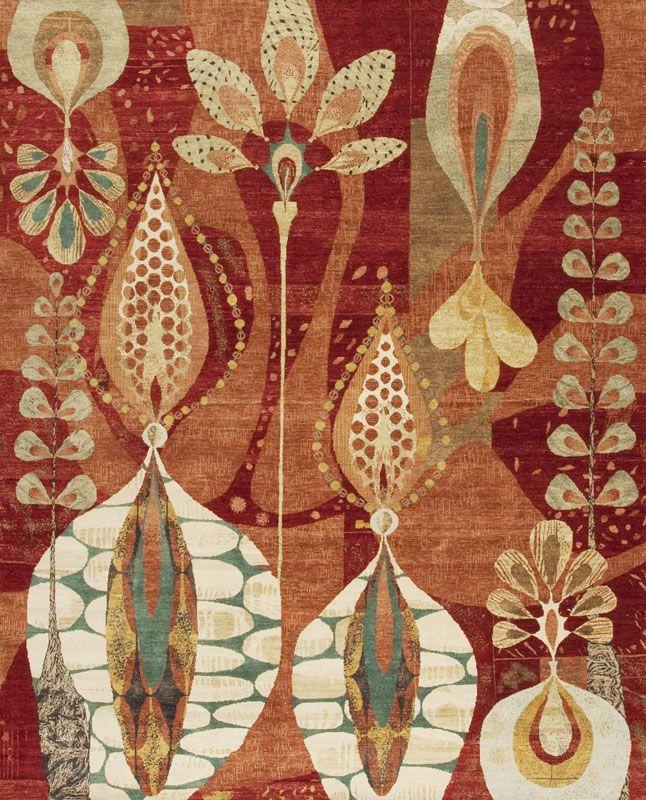 Rex Ray Twin Peaks Samad Hand Made Carpets