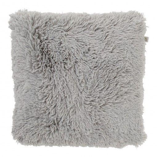 Dutch Decor kussen fluffy 45 x 45 cm mist