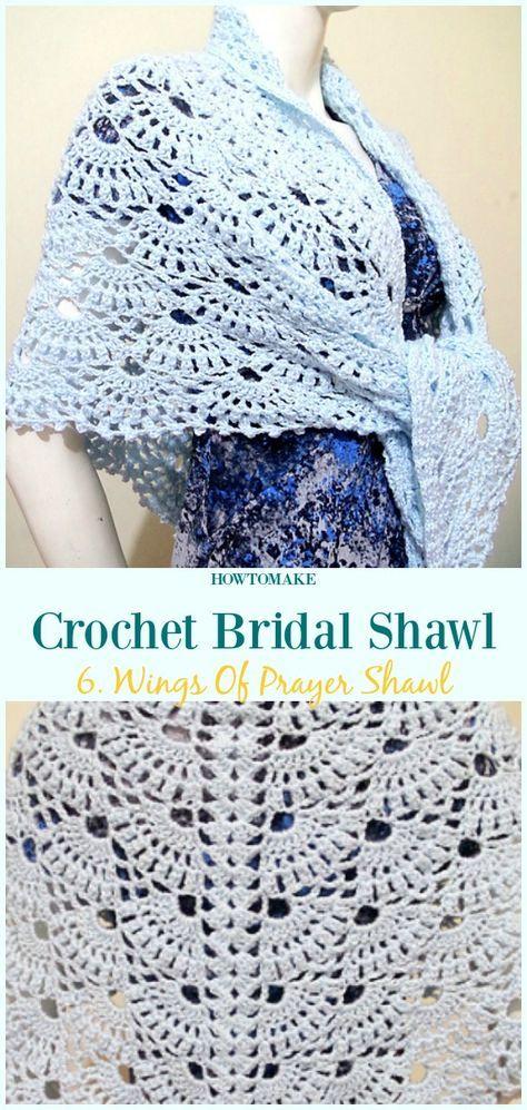 Crochet Bridal Shawl Free Patterns For Wedding Elegance Bridal