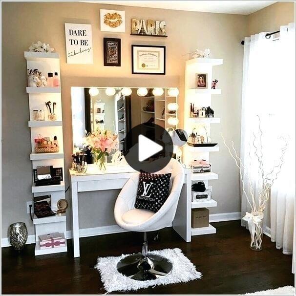5 Super Makeup Schreibtisch Schminktisch Ideen