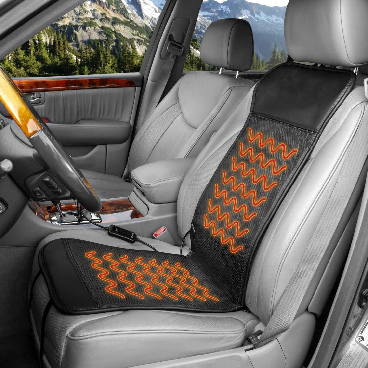 Deluxe sport Heated Seat Cushion Wagan Tech Healthmate