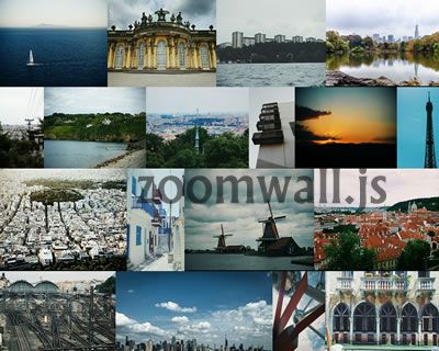 zoomwall js – Photo Gallery with Masonry Layout #gallery #zoom