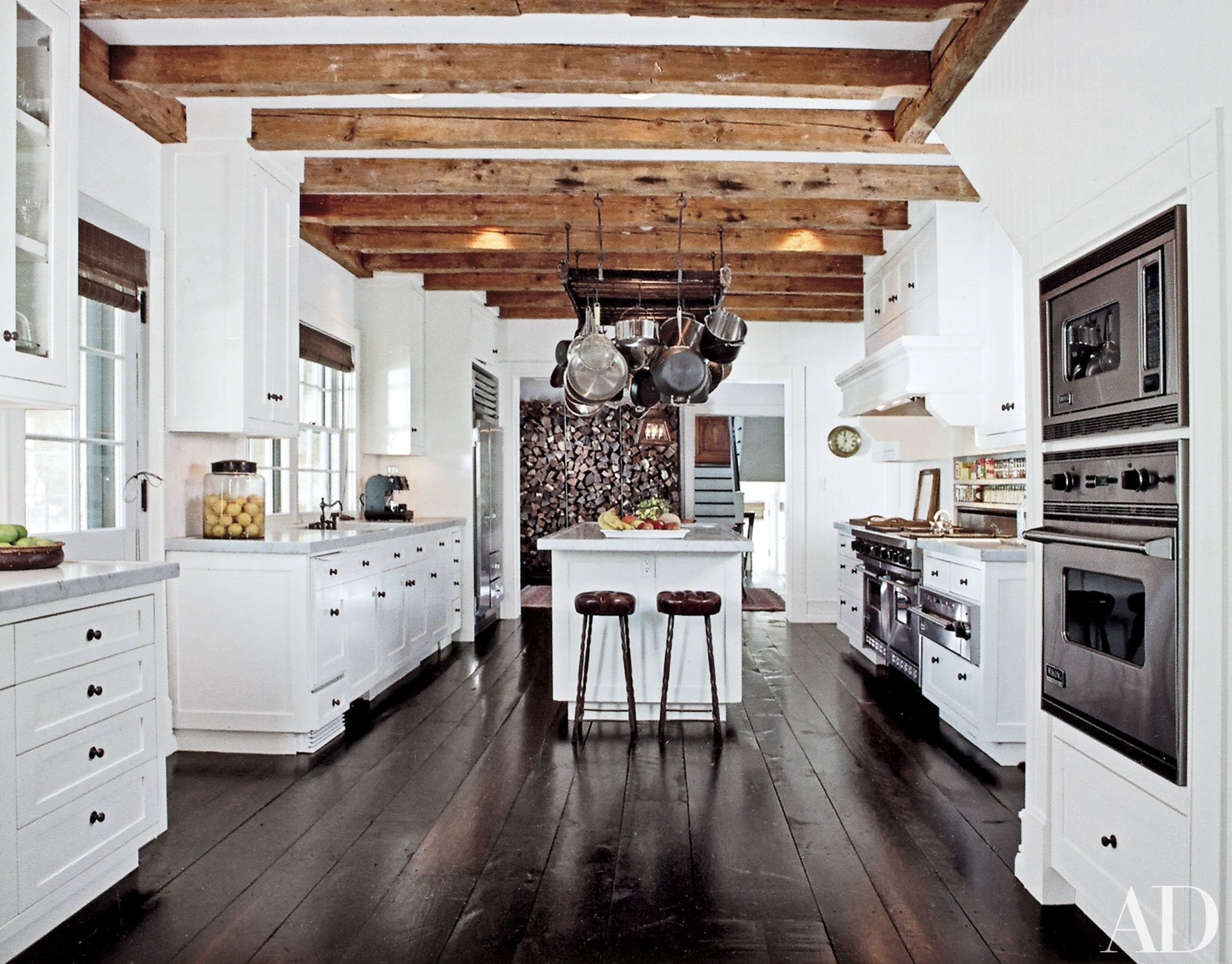 Best Rustic Garage Floors Modern White Kitchens With Dark 640 x 480