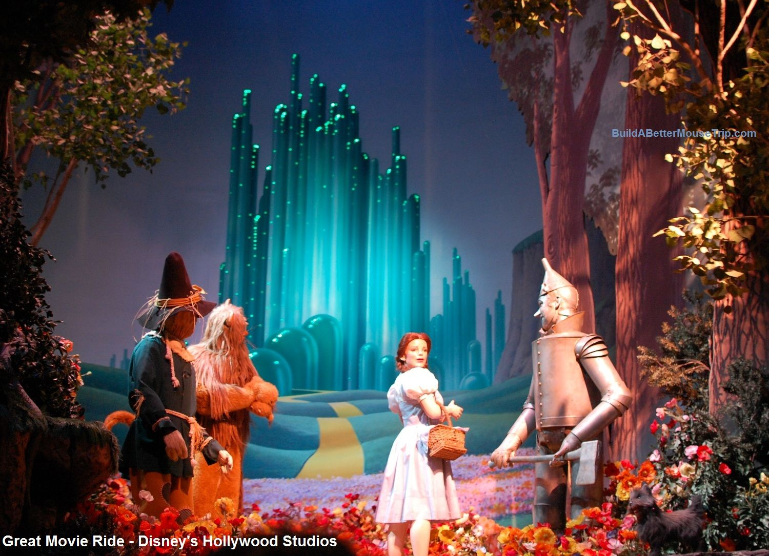 Wizard of Oz scene from the Great Movie Ride at Disney's