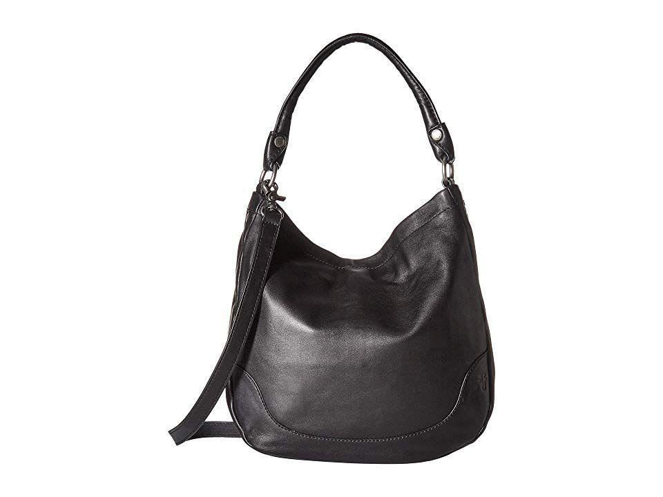 Frye Melissa Hobo (Black Smooth Full Grain 1) Hobo Handbags. The Frye  Melissa 59c873a9ff8ba