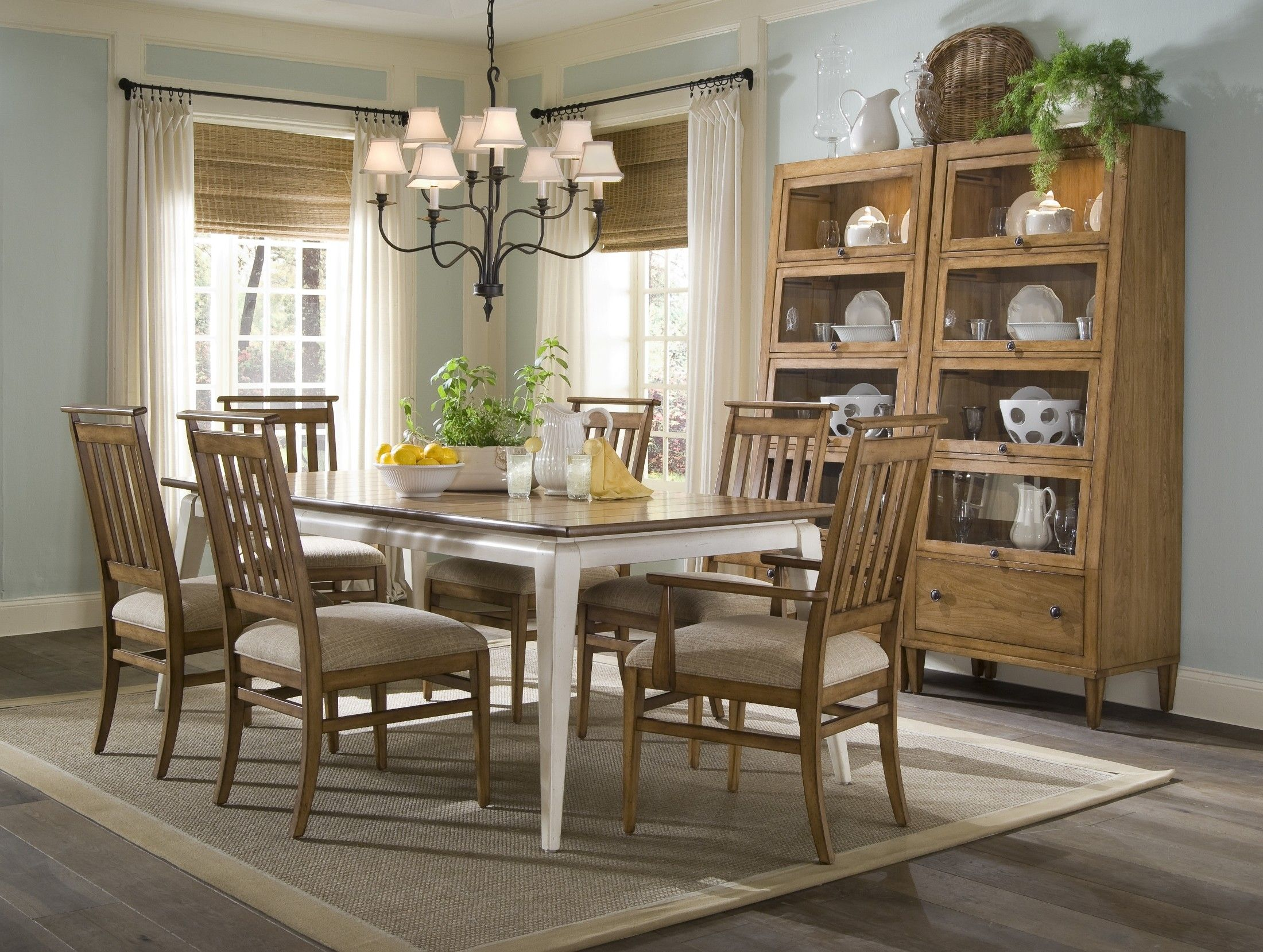 country dining room furniture inside modern design white decorating ...