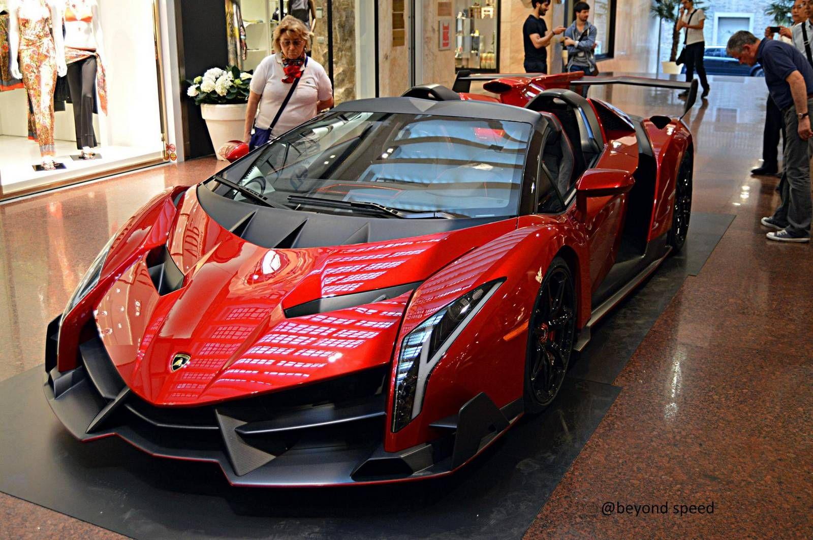 Lamborghini Veneno Roadster Spotted In Bologna Lamborghini