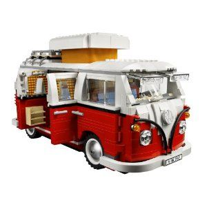 LEGO Creator Volkswagen T1 Camper Van 10220....because Doug had a real VW bus and would think this is awesome.
