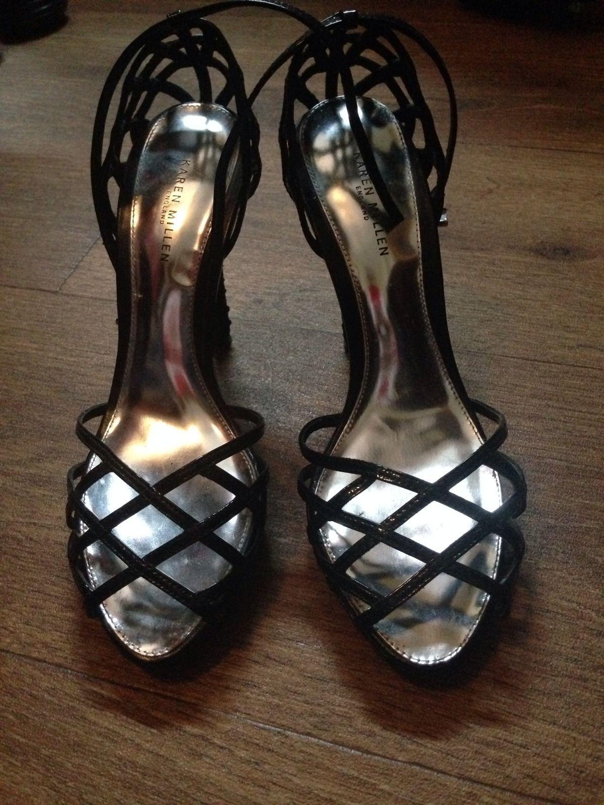 Karen Millen Diamante Heels 4 | eBay