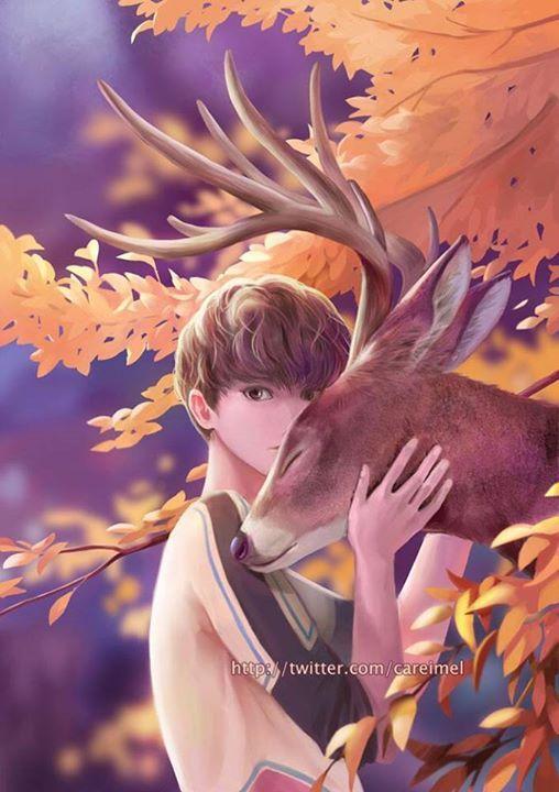 Luhan - Beautiful fanart~  cr: careimel